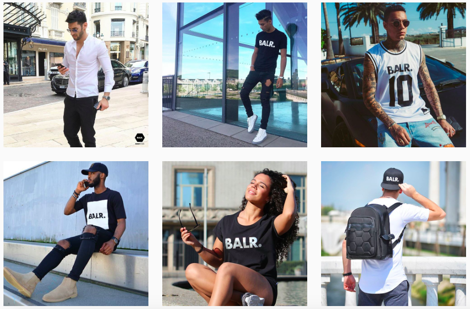 BALR instagram posts