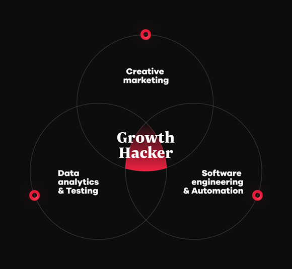 Growth hacker skill combination