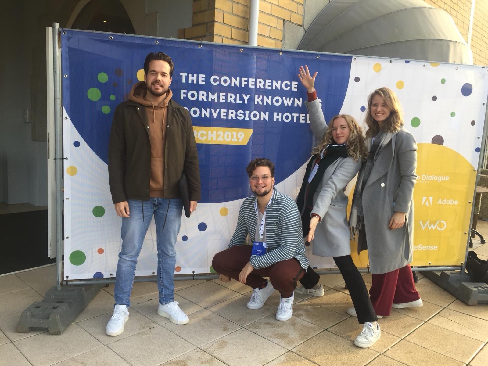 RockBoost members at the Conversion Hotel Conference in 2019